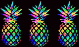Pineapple Abstract