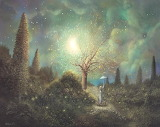 Found Happiness Acrylic Fantasy Landscape Painting Philippe Fern