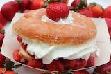 ^ Strawberry shortcake donut