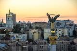 Independence Square, Maiden Nezalezhnosti, Kiev, Ukraine