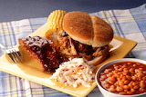 ^ BBQ lunch plate