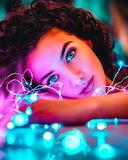 Magic blue eyes