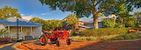Tractor in Palmetto Historical Park