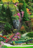 Stairway to gardens