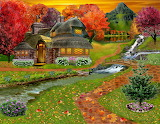 Autumn-country-cottage