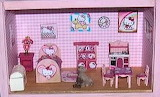 Hello Kitty Bedroom and Child's Kitchen by JoAnn Jacot