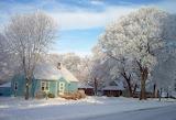 Puzzle winter wonderland