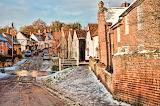 ^ Kersey, Suffolk, England