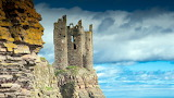 Ruins Of Keiss Castle Scotland