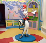 Cat In The Hat at the Dr Seuss Museum