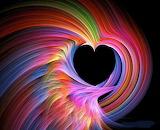 Heart full of colors