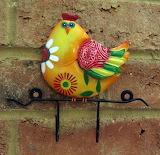 Colourful-chicken-2-hook-wall-rack-metal-kitchen-bathroom-hen-fa