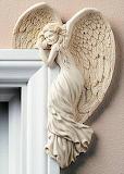 Angel at my door.