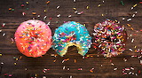 #Donuts with Sprinkles