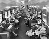 Union Pacific Streamliner, Lounge Car, 1950's