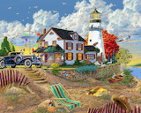 Lighthouse Visitors - Joseph Burgess