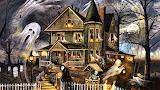 #Halloween Haunted House by Amanda Elise