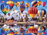 #Hot Air Balloons by Howard Robinson