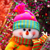 *Colorful Snowman...