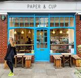 Shop London Paper & Cup