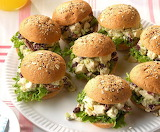 ^ Chicken Salad Party Sandwiches