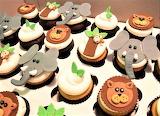 Jungle Animal Cupcakes 4jp