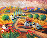 country road, Giorgio Trobec