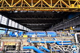 Guts of abandoned UK power plant