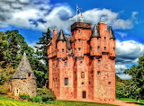Craigievar Castle, in Scotland