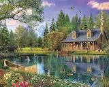 Mountain Cabin - Dominic Davison