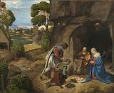 Pokłon Pasterzy-Giorgione