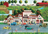 The Old Filling Station - Art Poulin