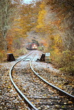 New england central in the fall
