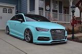 Tiffany Blue Audi