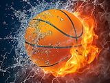 Cool-basketball-ball-water-fire