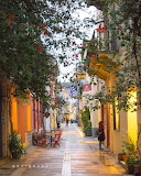 Old Town Nafplio Peloponesse Greece