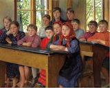 In Class~ Nikolai Bogdanov-Belsky