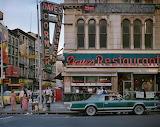 Dave's Restaurant in New York City, 1984.