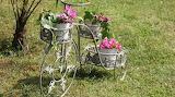 Vélo porte  fleurs