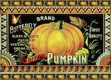 Pumpkin Can Label