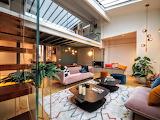 Parisian penthouse apartment