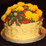 ^ Birthday cake Fall Autumn