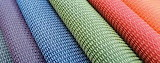 Colorful fabric texture textile
