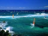 Windsurfers, Maui...