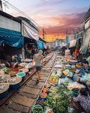 Maeklong Railway Market, Bangkok