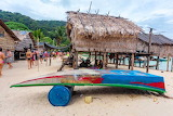 Thatched huts-Thailand-surin-island-tourism