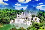 Ban Gios-Detian Waterfafall, China