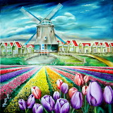 Field Of Tulips~ MiriamBesa