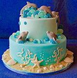 Dolphin cake @ La Pasticceria di Gloria