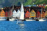 Village of Bergen Norway